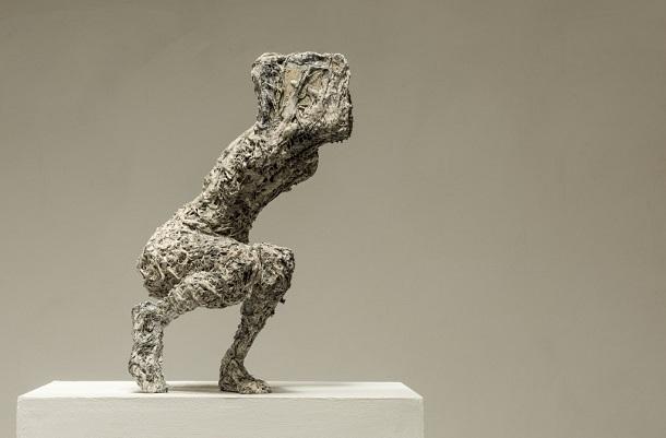 "Anna Gillespie, ""Boxed"" - plaster, resin, mixed media   obras de arte, esculturas figurativas, art pictures, imagenes bellas, sculptures, cool stuff"