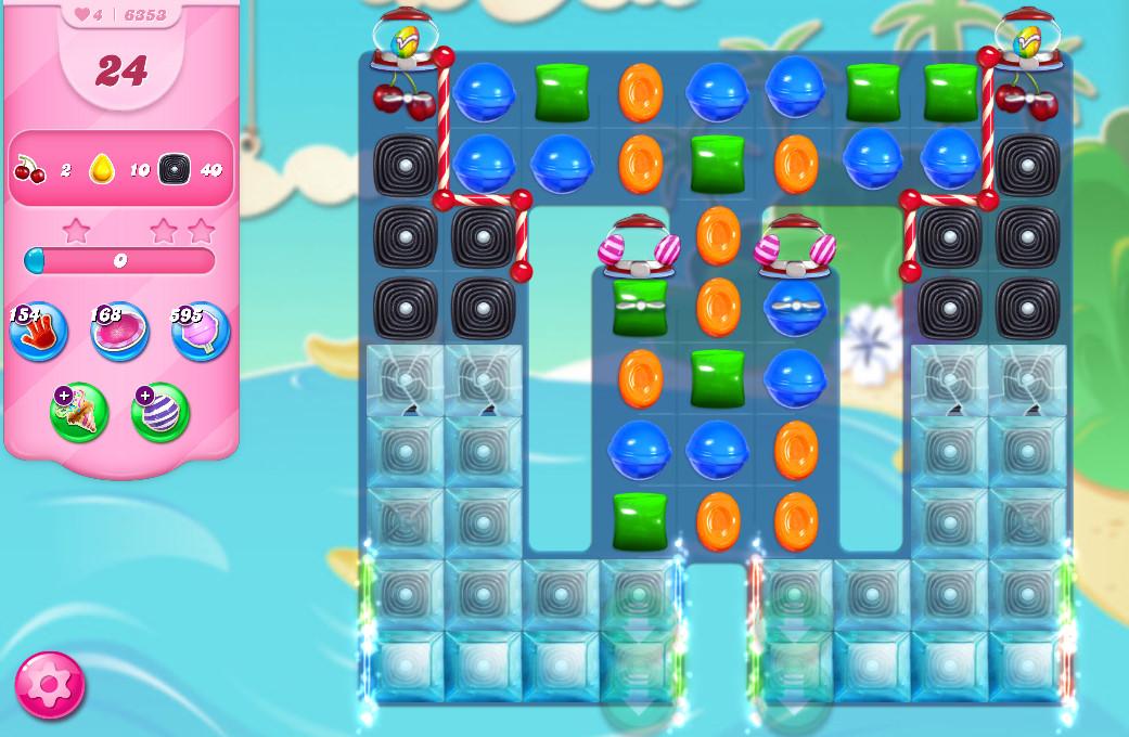 Candy Crush Saga level 6353