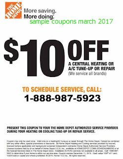 free Home Depot coupons for march 2017