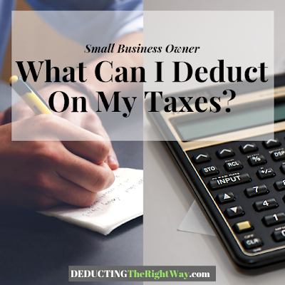 Tax Deductions for SMB | www.deductingtherightway.com