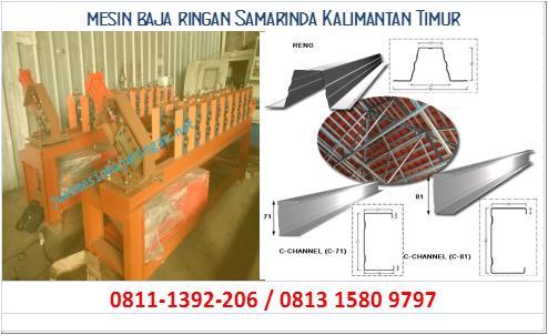 mesin baja ringan Samarinda Kalimantan Timur