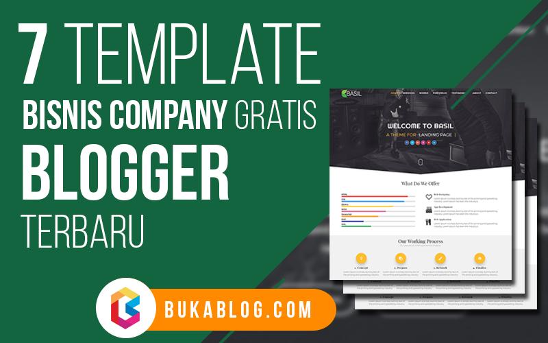 Download 7 Template Blogger untuk Bisnis/Company GRATIS