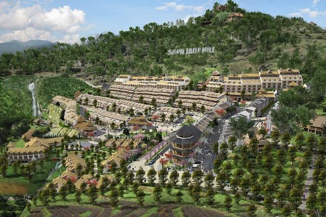 Phối cảnh Condotel Sapa Jade Hill Lào Cai