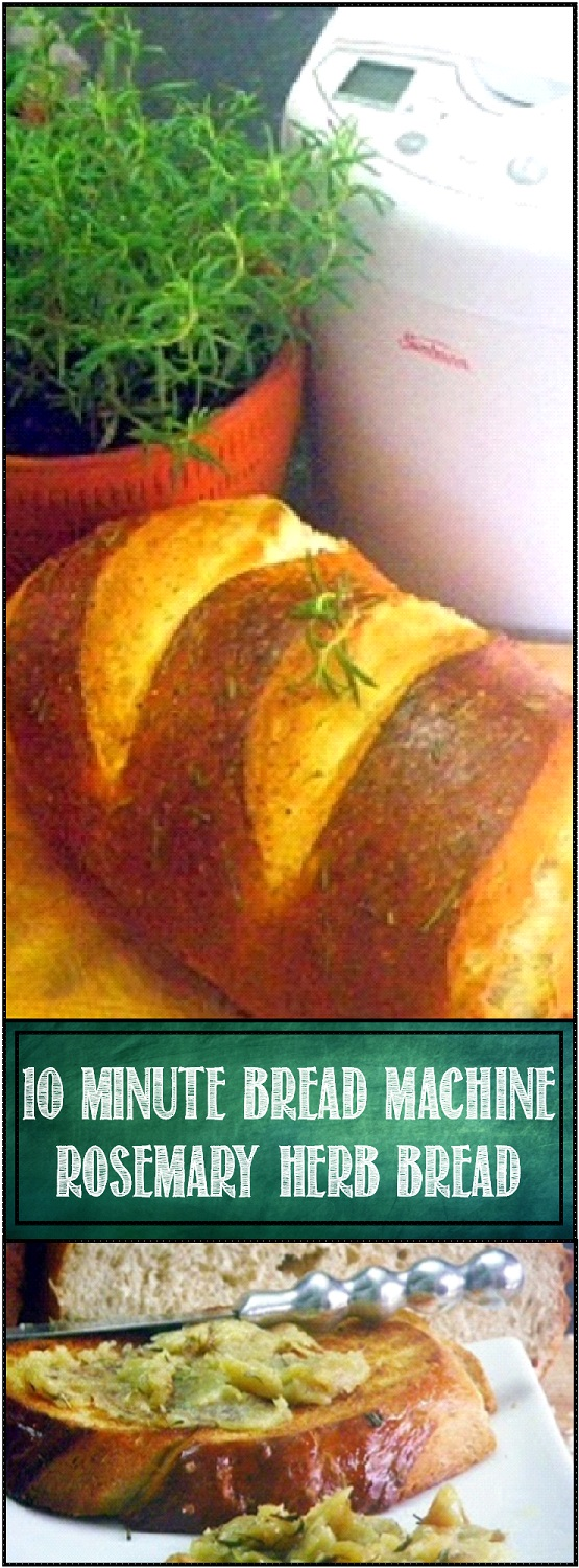 rosemary bread recipe bread machine