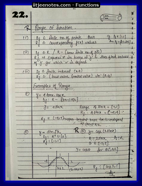 functions notes download