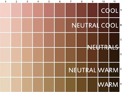 Liegh S Corner Understanding Skin Tones Amp Undertones