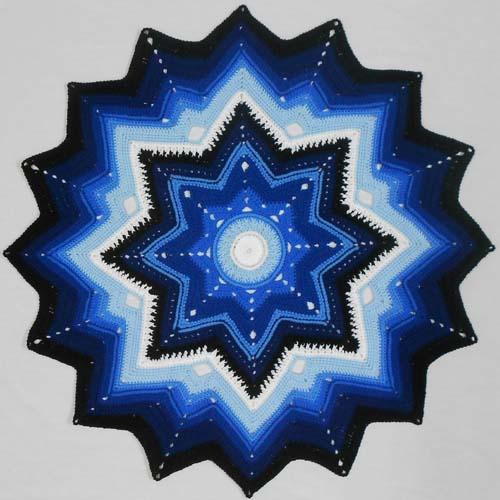 Mini Galaxy of Change - Free Pattern