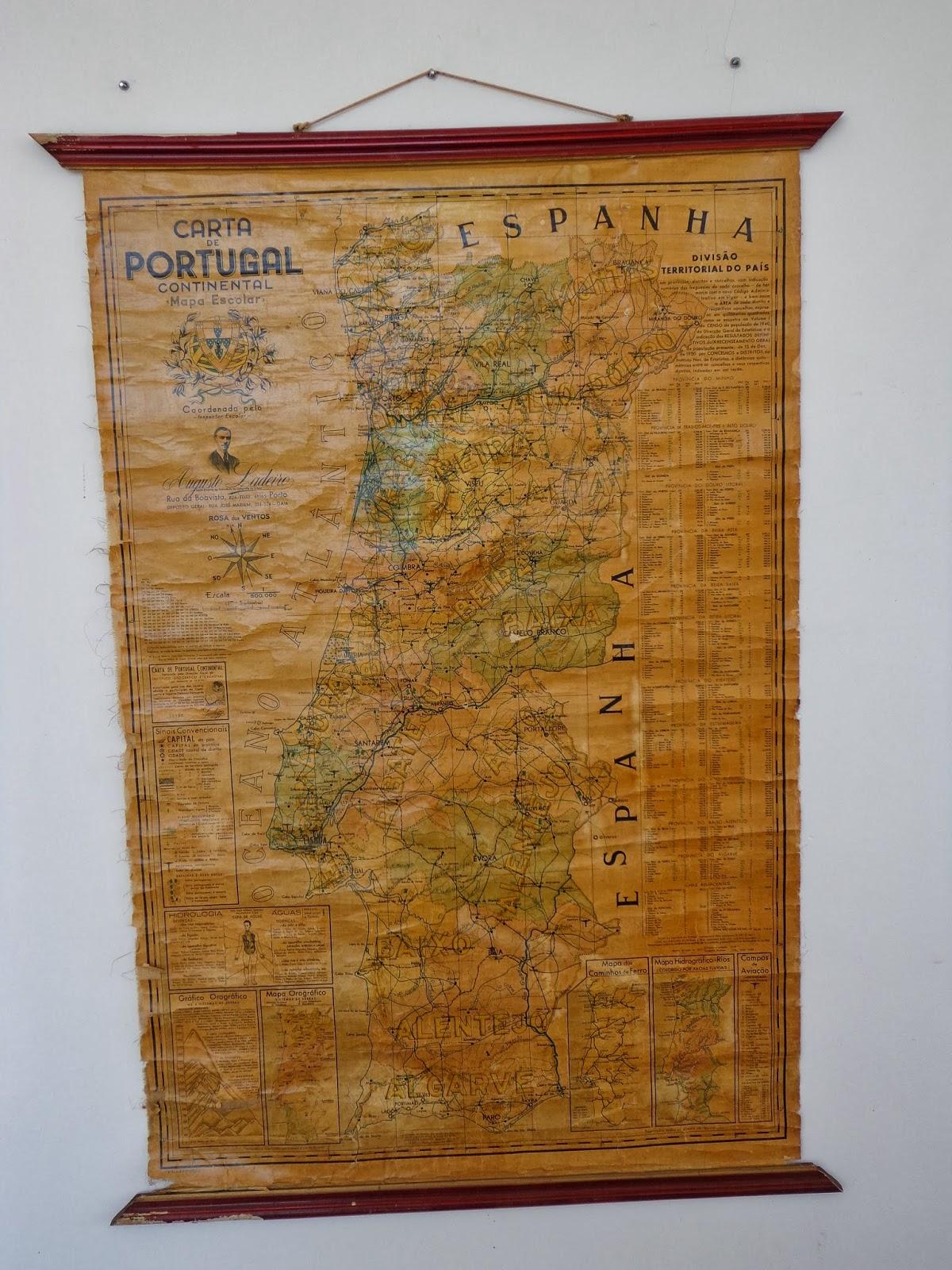 portugal mapa escolar porto editora mapa escolar Fim de Semana Alucinante: Carta de Portugal Continental (Mapa Escolar) portugal mapa escolar porto editora mapa escolar