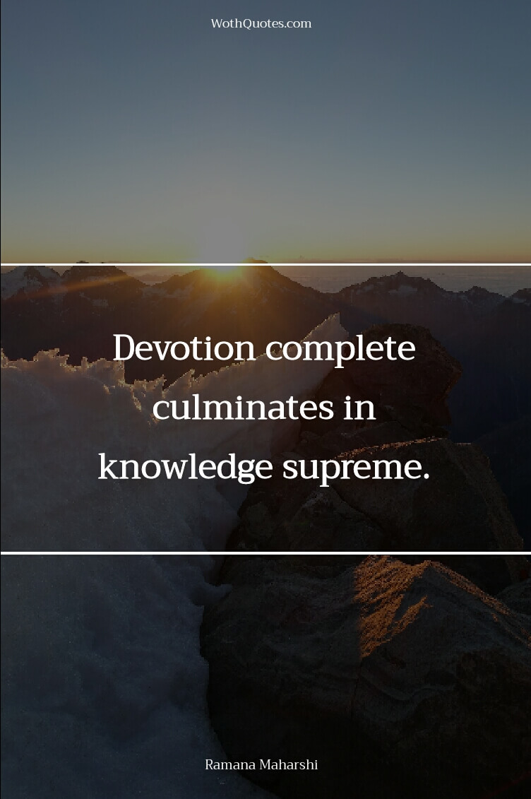 Devotion Quotes Extraordinary Devotion Quotes  Devotion Sayings  Wothquotes Collection