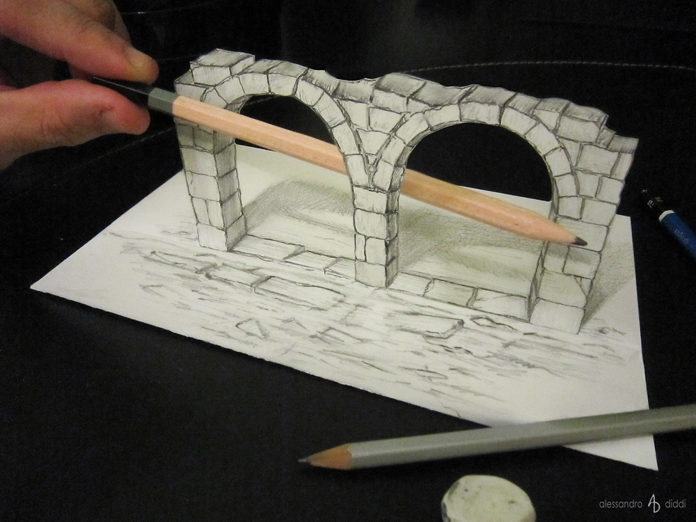 04-Inside-Out-Alessandro-Diddi-Anamorphic-Optical-Illusions-that-look-like-3D-Drawings-www-designstack-co