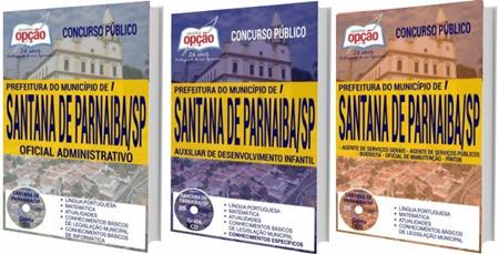 Apostila Prefeitura de Santana de Parnaíba 2017