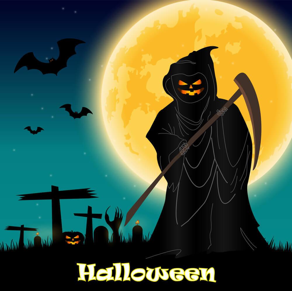 halloween wallpaper night background devil pumpkins, Halloween Images, Halloween Pictures and Wallpapers.