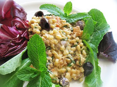 Barley and Lentil Herbed Salad