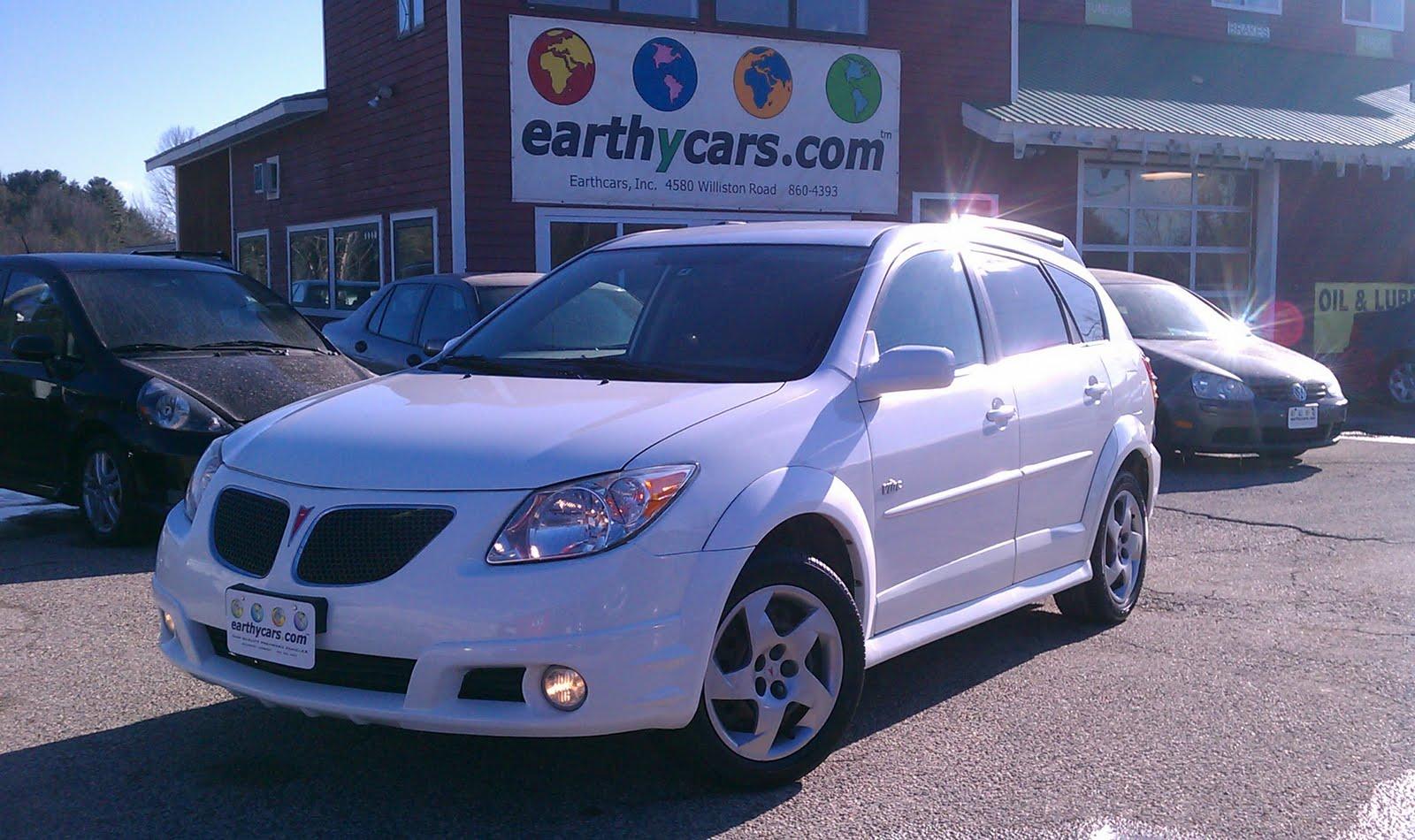 Earthy Car Of The Week 2006 Pontiac Vibe