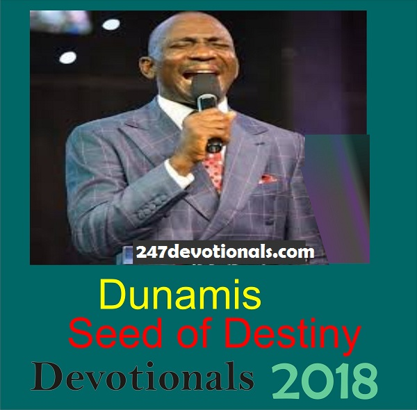 DUNAMIS CHURCH SEED OF DESTINY Sunday, 21 January 2018