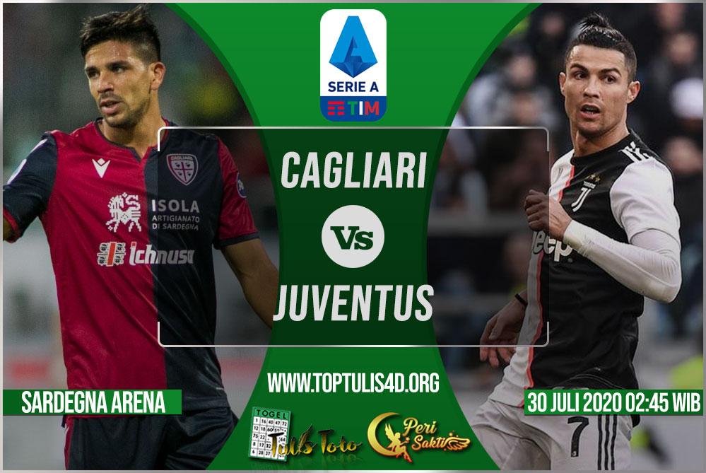 Prediksi Cagliari vs Juventus 30 Juli 2020