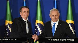 Jair Bolsonaro anuncia a abertura de um escritório de negócios em Jerusalém