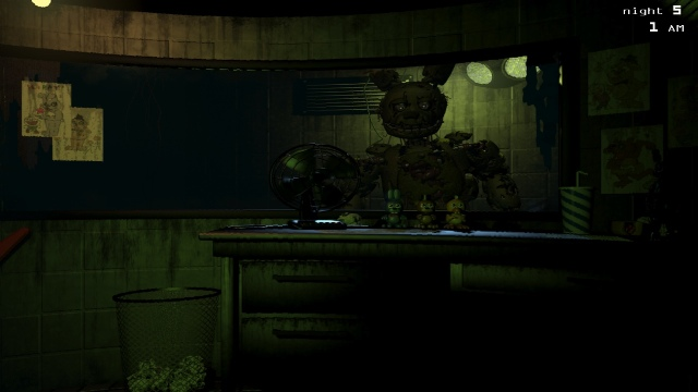 Download Five Nights at Freddy's 3 PC Gameplay