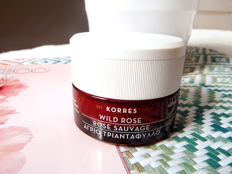 Wild Rose face cream, Korres face cream, Wild rose day cream