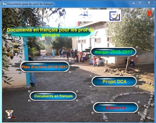 Documents en français pour les profs du primaire