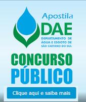 Apostila Concurso DAE - Departamento de Água e Esgoto SCS 2015.