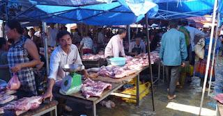 Vietnam. Mercado de Bac Ha.