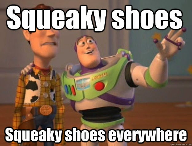 What Makes Shoes Squeak When Walking
