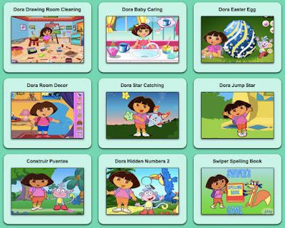 Juegos de las aventuras de Dora la Exploradora