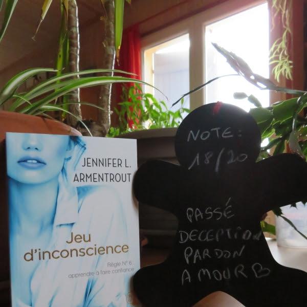 Jeu de patience, tome 6 : Jeu d'inconscience de Jennifer L. Armentrout