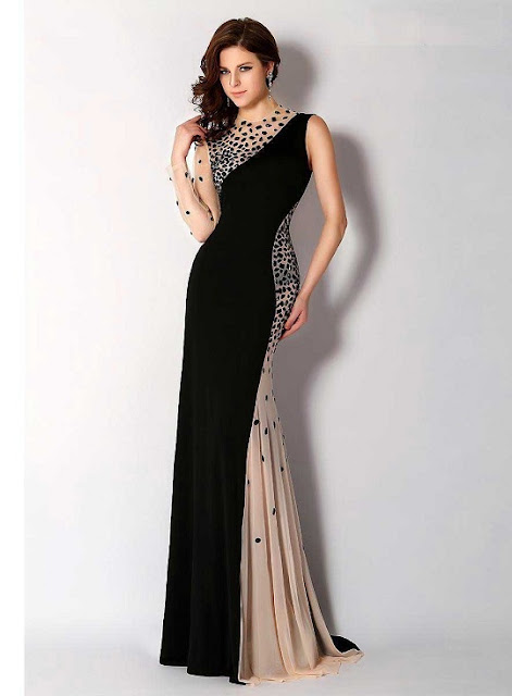 One shoulder Mermaid Evening Dress