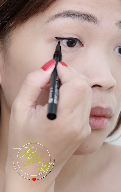 a photo of K-Palette Real Lasting Eyeliners review in Brown Black, Natural Black, Deep Brown and Super Black by Nikki Tiu Askmewhats.com