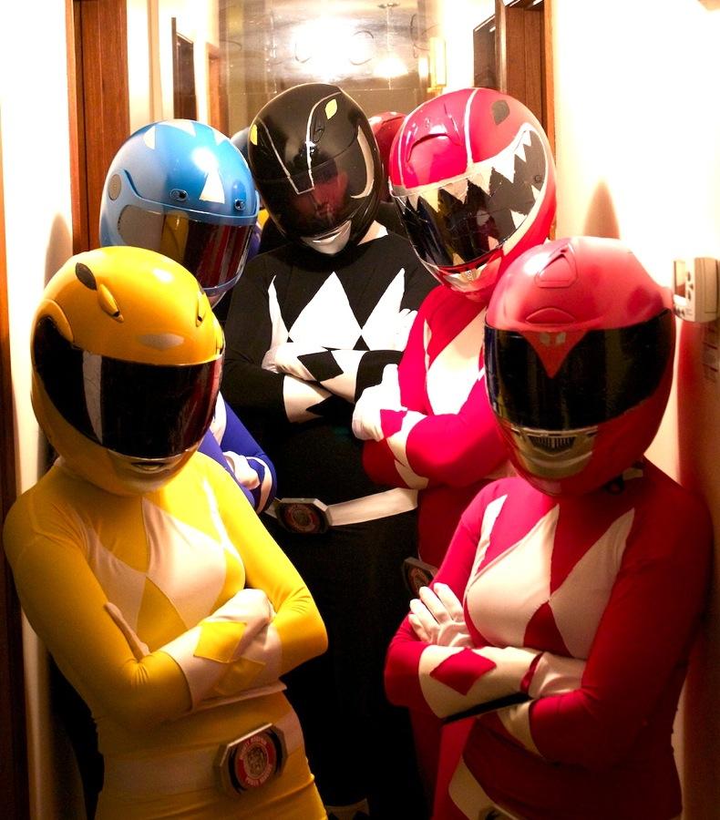 Power Rangers Go