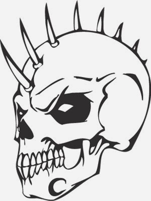 skulls coloring pages # 22