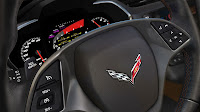 The 2014 Chevrolet Corvette Stingray dash