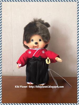 kiki monchhichi vintage japanese samouraï référence 21658 collection japan expo