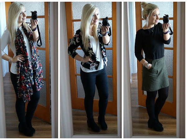 Outfits of the Week: Blazers, Jeans & A-Line Skirts
