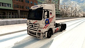 Malaysia skin for Mercedes Actros 2009