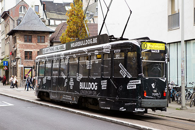 Boutique Agency Gents unleashes Bulldog Gin in Streets of Antwerp