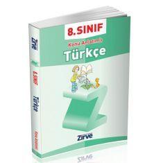 Zirve 8.Sınıf Türkçe Konu Anlatımlı