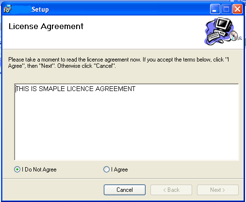 Add License Agreement In Visual Studio Setup Project
