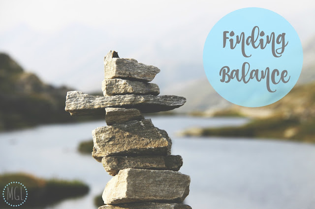 My General Life - Finding Balance - Health - Wellbeing