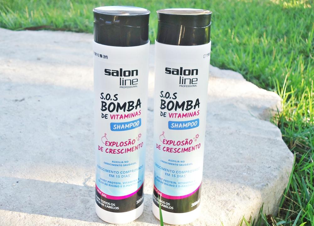 Shampoo S.O.S Bomba de Vitaminas Salon Line