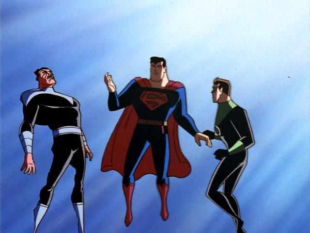 TV Lover: Superman: The Animated Series - Episodes 45-48 Reviews
