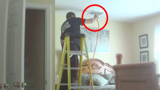 Sebelum Petugas Datang, Ia Pasang Kamera Pengintai, Apa yang Terekam Sungguh Mengejutkan !!