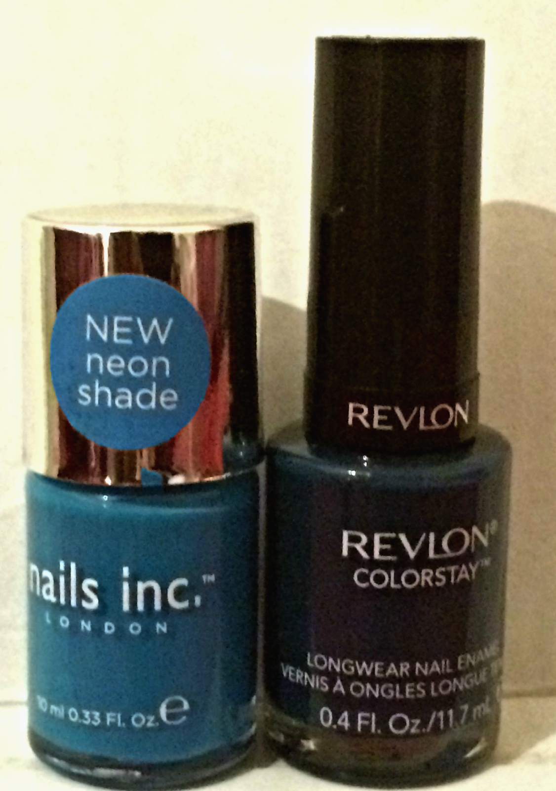 Nails Inc Revlon nail polishes