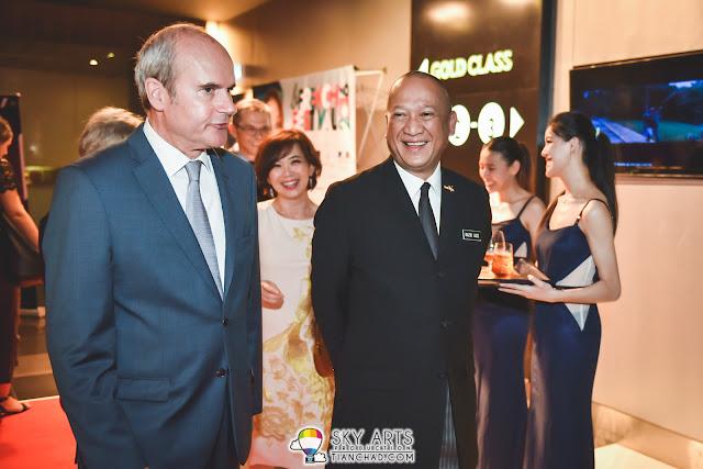 Y. Bhg. Dato' Seri Mohamed Nazri bin Abdul Aziz at French Film Festival Launch 2016 @ GSC Pavilion Kuala Lumpur