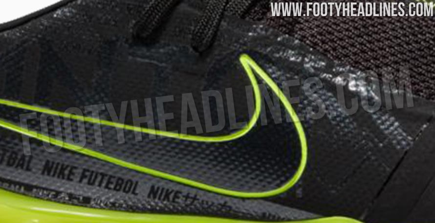 a579d41d2 Black   Volt Nike Phantom Venom 2019-20 Black Pack Boots Leaked ...