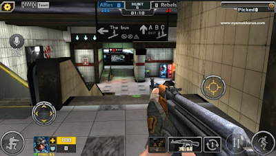 Crisis Action v1.9.2 Mod Apk Data OBB Terbaru