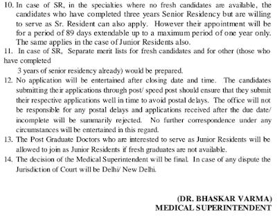 Acharyashree Bhikshu Govt Hospital Recruitment 2017 Application Form