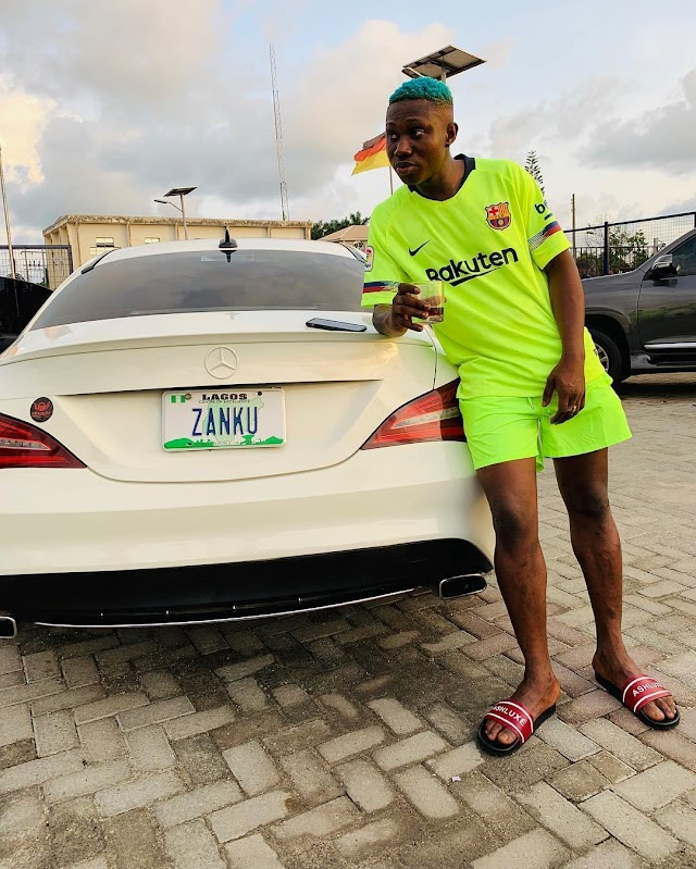 GIST: Zlatan Ibile Acquires Brand New 35 Million Mercedez Benz Car